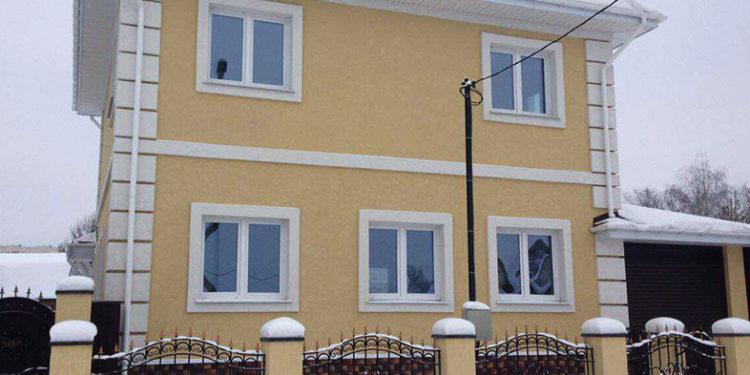 Фасадные Работы - Сервистрой Плюс